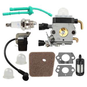 Carburetor-Ignition-coil-for-STIHL-FS55-FS38-FS55R-KM55-FS45-FS46-TRIMMER-Kit-US