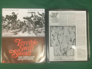 SPI Wargame Terrible Swift Sword Three Days Of Gettysburg RARE!