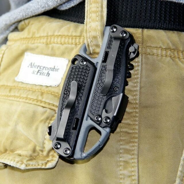 4 in 1 Transformers Multi toolkit Folding Knife Set Outdoor Camping Survival