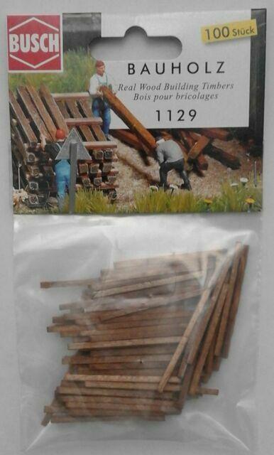 Busch-1129 H0 Bauholz
