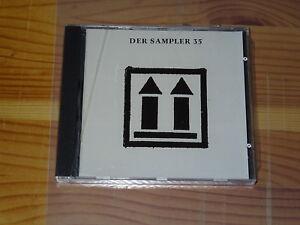 DER-SAMPLER-35-V-A-LINE-CD-1989-MINT-NRBQ-GUEM-D-039-ALMA-RABITT