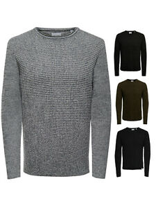 Only & Sons  Strick-Pullover OnsSato Feinstrick langarm Basic S M L XL XXL NEU