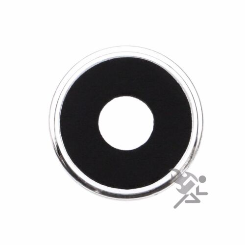 Air-Tite Holders 11mm Black Ring Coin Capsules 10 Pack