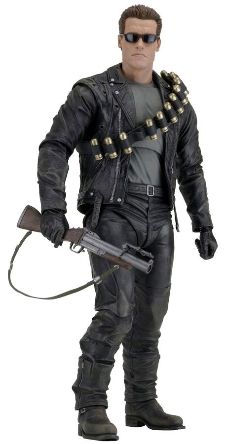 NECA - Terminator 2  Judgement Day - T800 1 4 Scale Figure