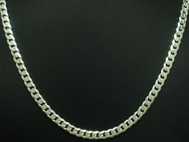 925 STERLING silver PANZERKETTE   ECHTsilver   50,5 cm   28,2 g