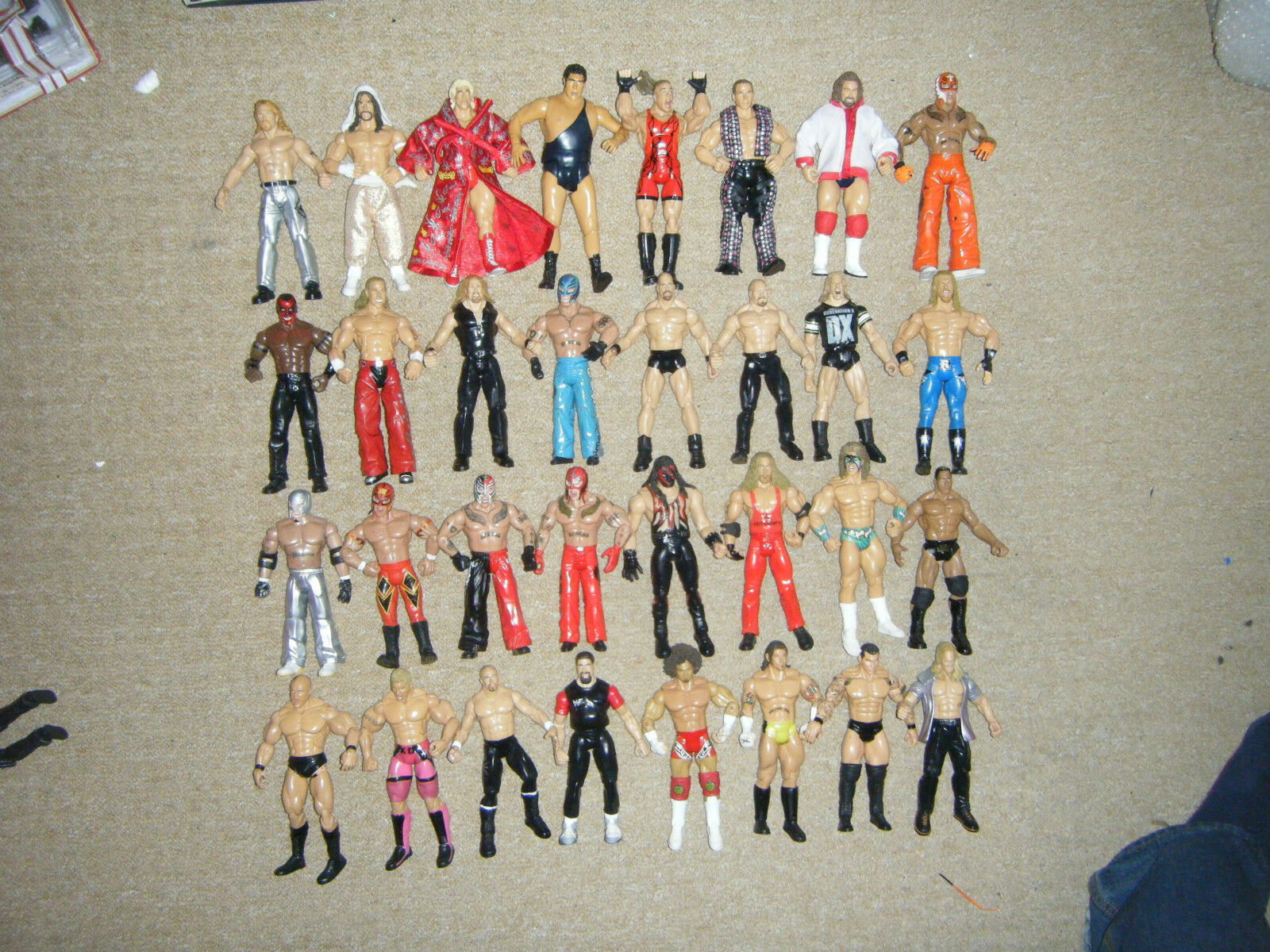 WWE CLASSIQUE FIGURINE CATCHEUR SÉRIES LÉGENDE CATCHEUR SUPERSTARS MATTEL WWF