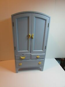 American Girl Blue Moon And Stars Armoire RETIRED 18' doll ...