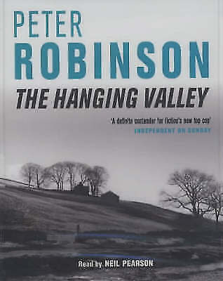 Peter Robinson 'THE HANGING VALLEY' 2 cassette audio book