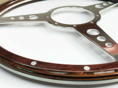 Compatible with Moto-lita Astrali Classic Wood Steering wheel 14 inch