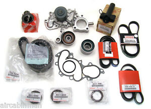 15 Piece 3.4L engine TIMING BELT KIT WATER PUMP  Genuine & OE Manufacture Parts!