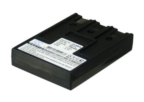 Ixus II 3.7 V Batteria per Canon PowerShot SD110 PowerShot SD20 Li-ion IXUS i5