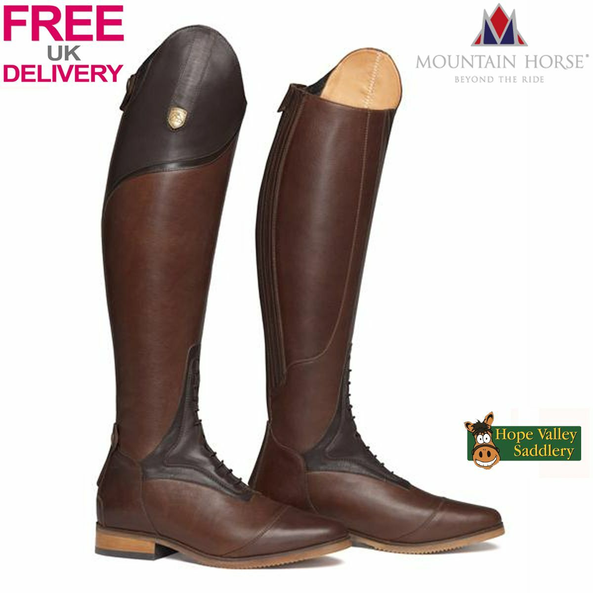 Mountain Horse Sovereign High Rider Boots FREE UK Shipping