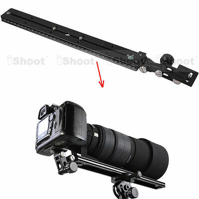 iShoot Long-Focus Lens Holder Camera Quick Release Plate for Tripod Mount Ring