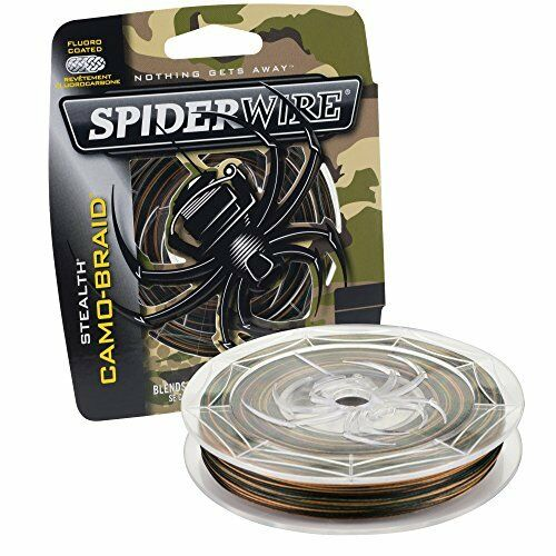 NEW SpiderWire Stealth Camo  Braid FREE SHIPPING  limited edition