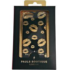 Pauls Boutique Black Gold iPhone 5 5s Case BNWT Designer London Phone Bag 64g 32