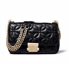926864e2da04 item 1 Michael Kors Bag Handbag Sloan Flora Quilited Sm Chain Leather Black  New -Michael Kors Bag Handbag Sloan Flora Quilited Sm Chain Leather Black  New