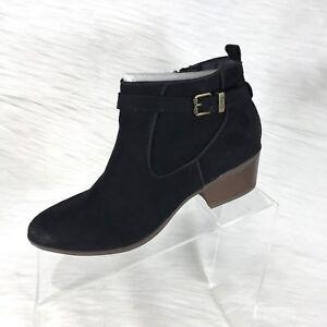 eb7fa3deb0ea88 Circus by Sam Edelman Women s Ankle Boots Phoenix Black Leather Size ...