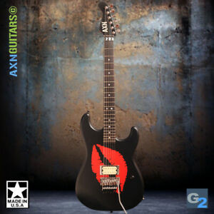 AXN™ Model2 Lips Guitar : Available Now :