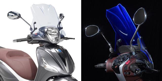 Pare-Brise Givi Spécifique Transparent 32 X 46 Beverly 350 Sport Touring 2014