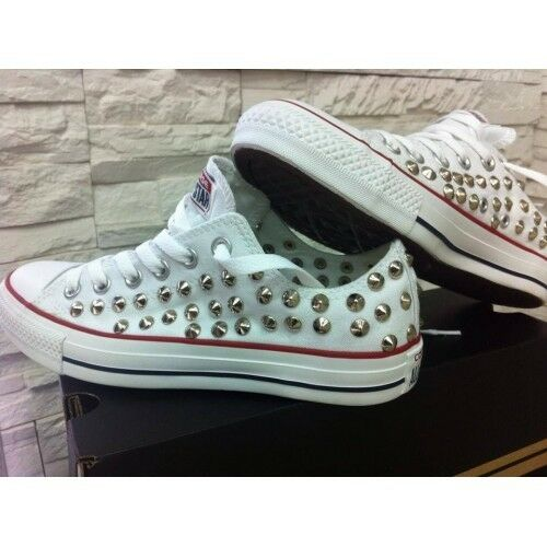Converse All Star Liege [Product Customized] Shoes Studded ORIGINAL 100%