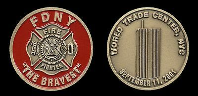FDNY RESCUE 1 Fire Department New York CHALLENGE COIN