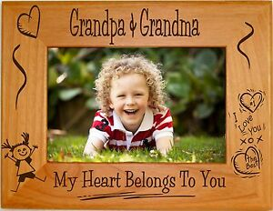 Personalized Picture Frames 4x6 5x7 8x10 Great Custom