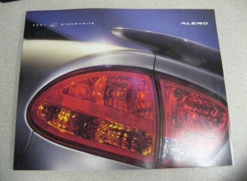 2001 Oldmobile Alero Sales Brochure Catalog Manual