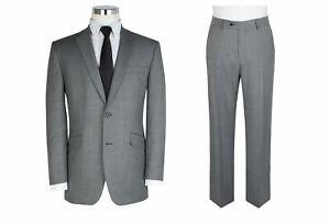 """Scott Laine Blend 2 Pièce Suit En Gris Clair (10123) En Taille 50 To 60"""",s/r/l-afficher Le Titre D'origine"""