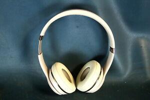 Beats By Dr Dre Solo3 Wireless On Ear Headphones A1796 Satin Gold Ebay