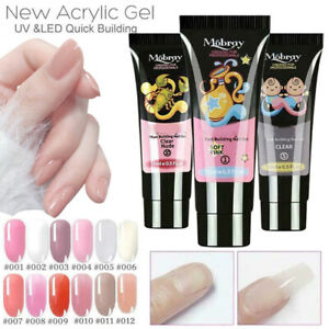 2020-US-Quick-Dry-Nail-Extension-Gel-Clear-Crystal-Nail-Art-Builder-Tool