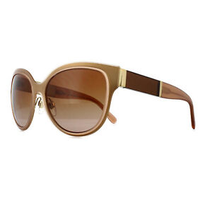 c1ea564c1c0 Image is loading Burberry-Sunglasses-BE-3087-121813-Light-Gold-Brown-
