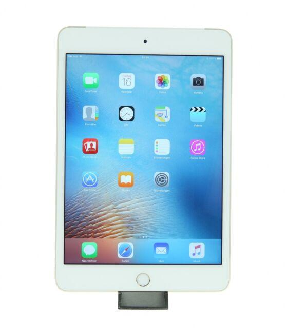 Apple iPad mini 4 WLAN + LTE (A1550) 16 GB Gold -Tablet- Wie Neu!