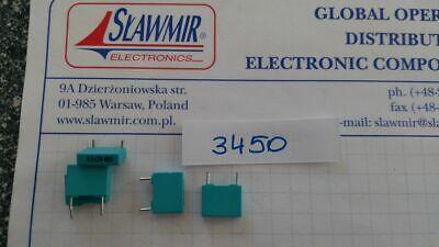 Siemens 3.3nF 400V 10/% RM7.5 mkt capacitor B32520B6332K Lot-10pcs