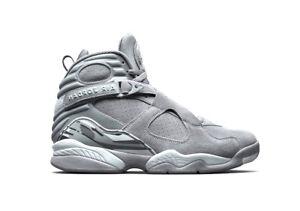 Moda Grey Grey hombre deportiva wolf Nike cool Jordan Air 8 Retro 014 para 305381 PPOrqw6