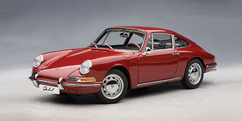 1 18 AUTOart - 1964 Porsche 911 red  - KULT   -  RARITÄT