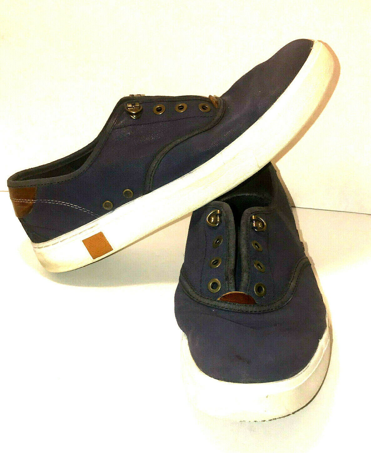 Timberland Sensorflex Mens Size 9 Blue Lace Up Sneakers