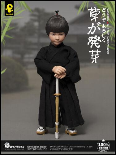 WorldBox Lakor Baby Kendo Boy 1//6 Action Figure