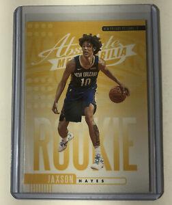 Jaxson-Hayes-2019-20-Absolute-Memorabilia-Yellow-Parallel-Rookie-Card-7-RC