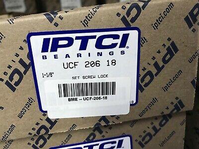 """4 Pack 1-1//8/"""" UCF206-18 Square Flanged UCF 206-18 4-Bolt Bearing ucf 206 ZSKL"""