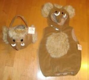 Nwt Pottery Barn Kids Woolly Mammoth Ice Age Costume 12