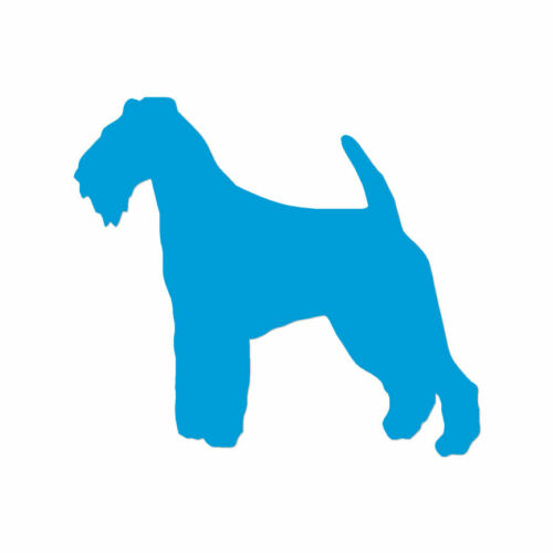 ebn2024 Decal Sticker Welsh Terrier Dog Breed Multiple Colors /& Sizes
