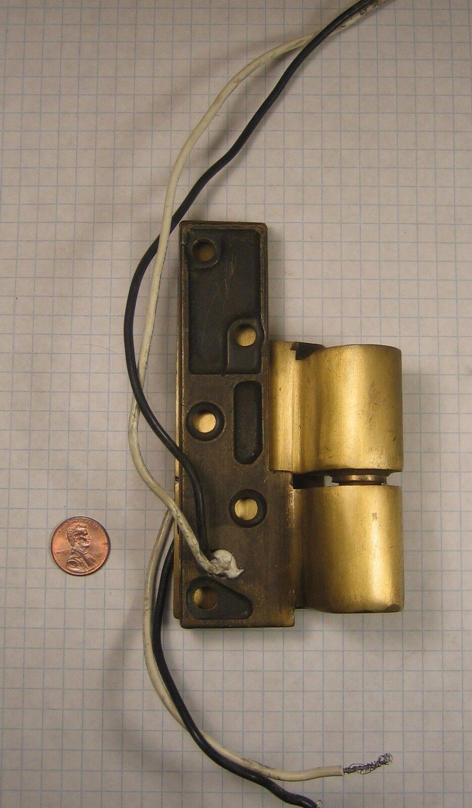 RIXSON  E-M19U-RH INTERMEDIATE PIVOT, 3 4  OFFSET, BRONZE, SATIN BRASS-PLATED