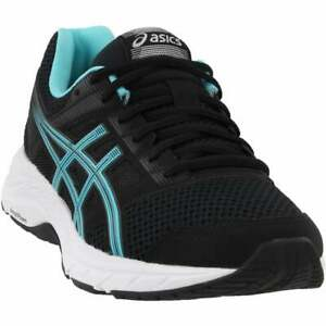 ASICS-Gel-Contend-5-Casual-Running-Neutral-Shoes-Black-Womens
