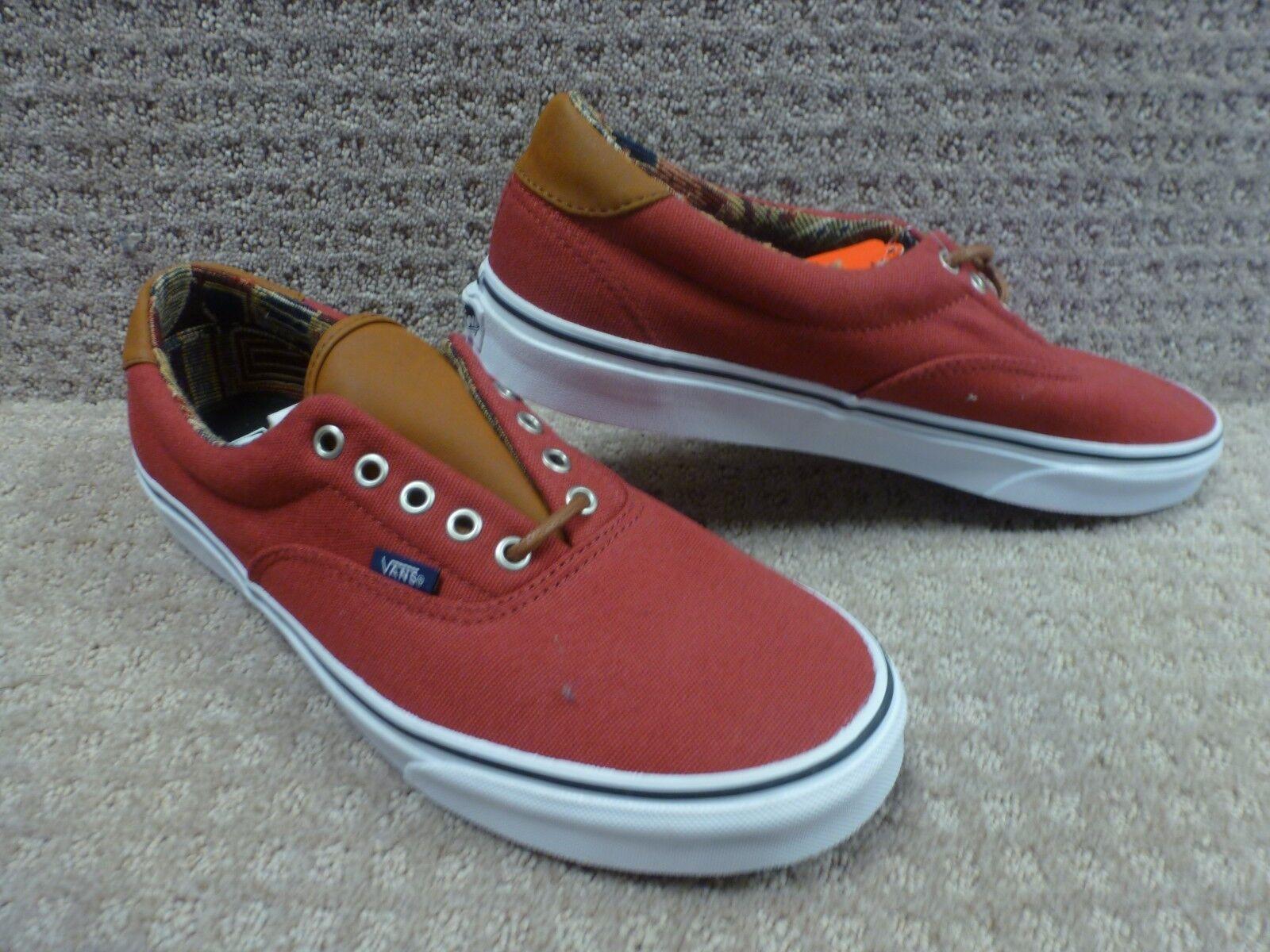 Vans Men's shoes  Era 59  -- (C&L) Tibetian Red Geo Weave