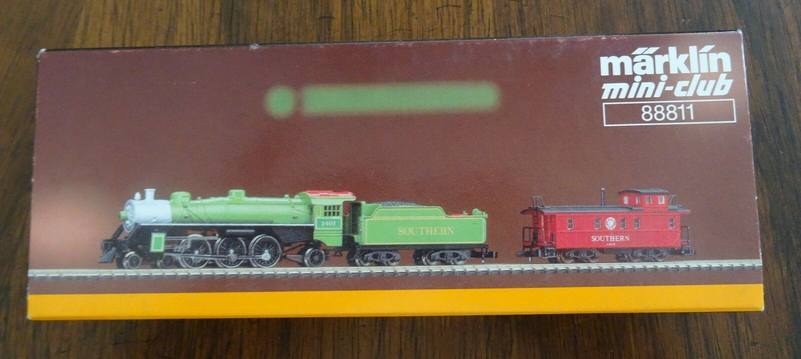 Brand New Marklin Southern Pacific Railway Mini Z Scale Locomotive