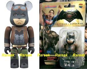 Bearbrick Be@rbrick Medicom 2018 DC 400/% Batman v Superman Justice League ver