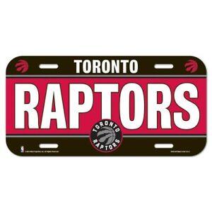 Toronto-Raptors-License-Plate-Lightweight-Plastic-NBA-Licensed-New