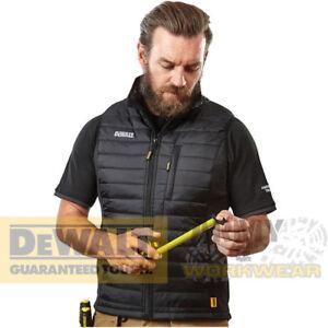 Bodywarmer Lichtgewicht Zip Gilet Pocket Heren Work Gewatteerde Dewalt Zwart Force wZFOfnnEq