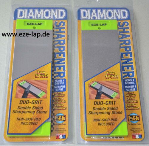 die 4 wichtigsten Schärfer !!! EZE-LAP Diamant-Schärfer 2 Doppelplatten