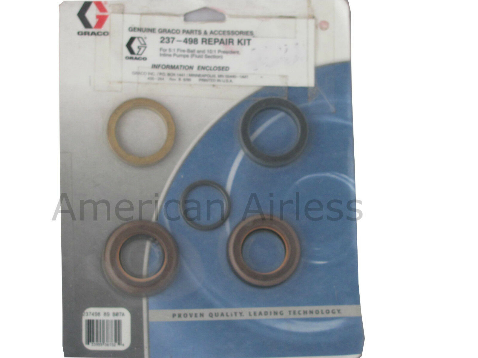 Graco Repair Kit 237498 237-498